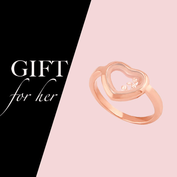 Talk him into giving you the perfect gift without saying a word!