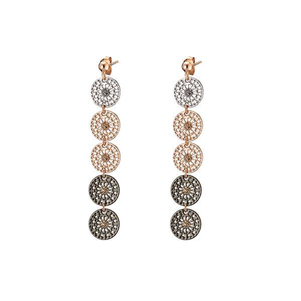03L15-00346 Loisir Femininity Snowflake Earrings