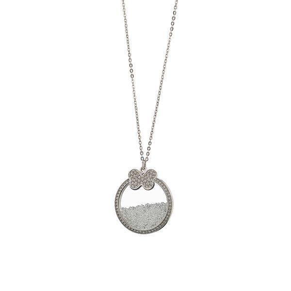 01L03-00487 Loisir Symbols Carousel Necklace