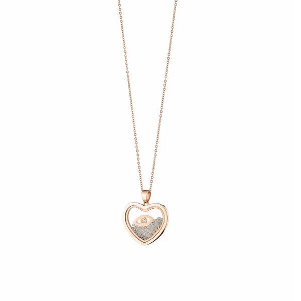 01L27-00726 Loisir Symbols Carousel Necklace