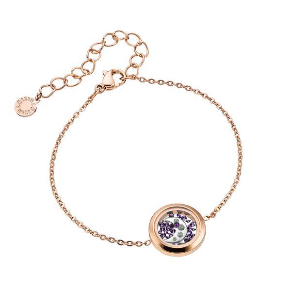 02L27-00802 Loisir Symbols Carousel Bracelet