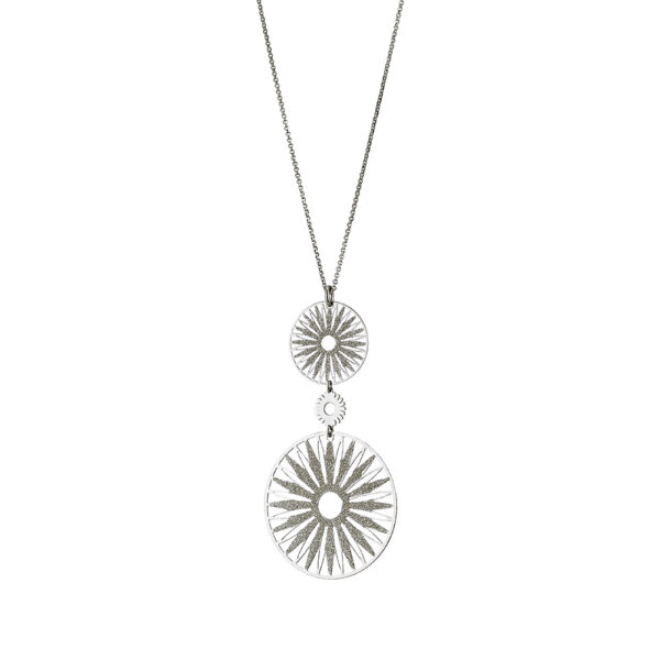 01L15-00675 Loisir Femininity Snowflake Necklace