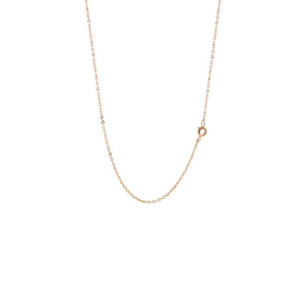 Loisir Metal Chain Rose Gold Plated 45 cm (12L15-00006)