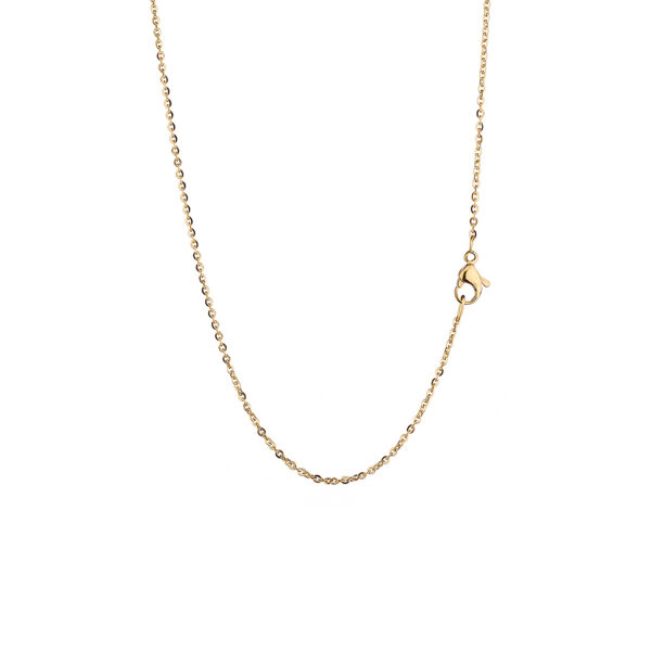 12L27-00011 Chain Gold Plated 80 cm