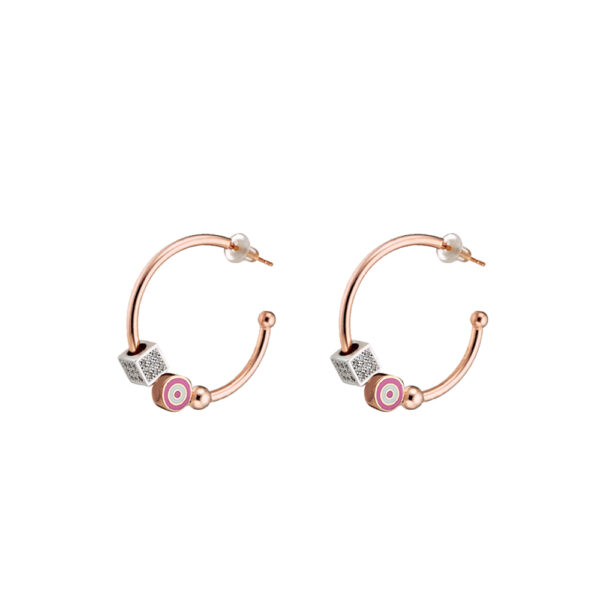03L27-00538 Loisir New Age Eyes Earrings