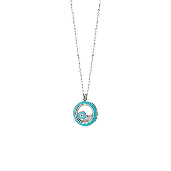 01L03-00505 Loisir Symbols Necklace