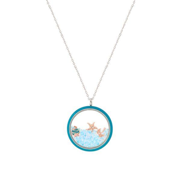 01L03-00506 Loisir Symbols Malibu Necklace