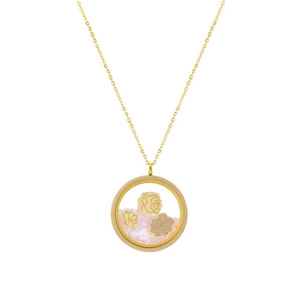 01L27-00749 Loisir Symbols Malibu Necklace