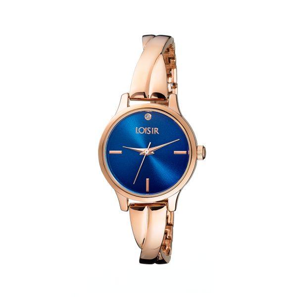 11L05-00407 Loisir Twist Bangle Watch