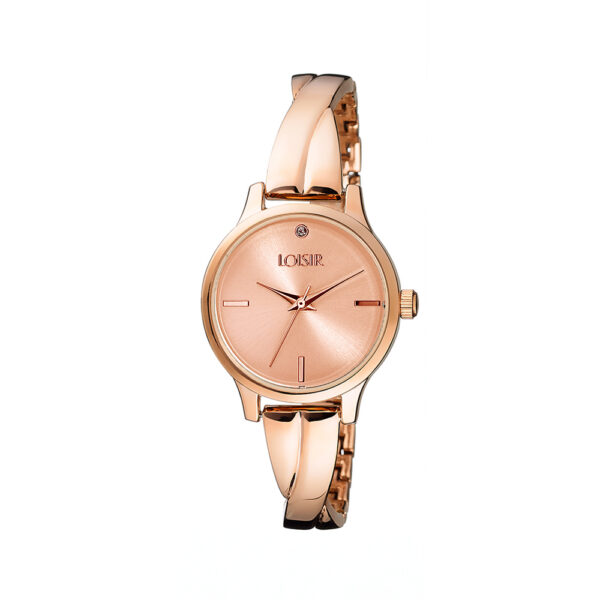 11L05-00408 Loisir Twist Bangle Watch