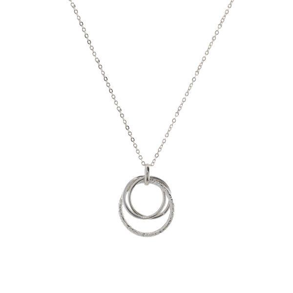 01L03-00522 Loisir Fashionistas Silver Color Necklace