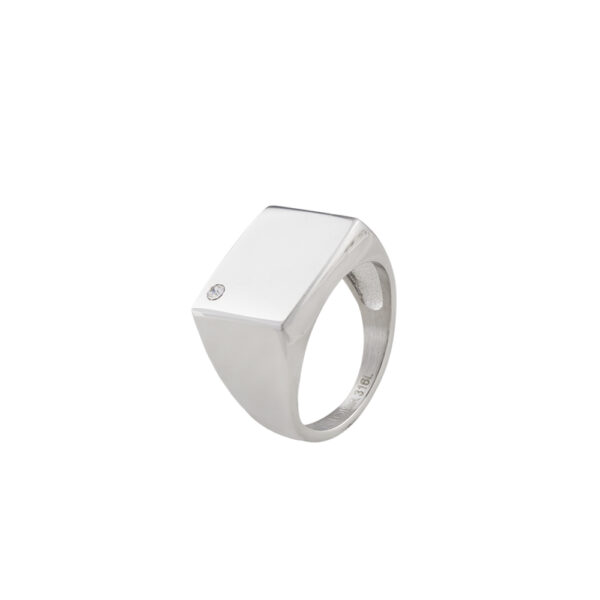 04L03-00279 Loisir Fashionistas Silver Color Ring
