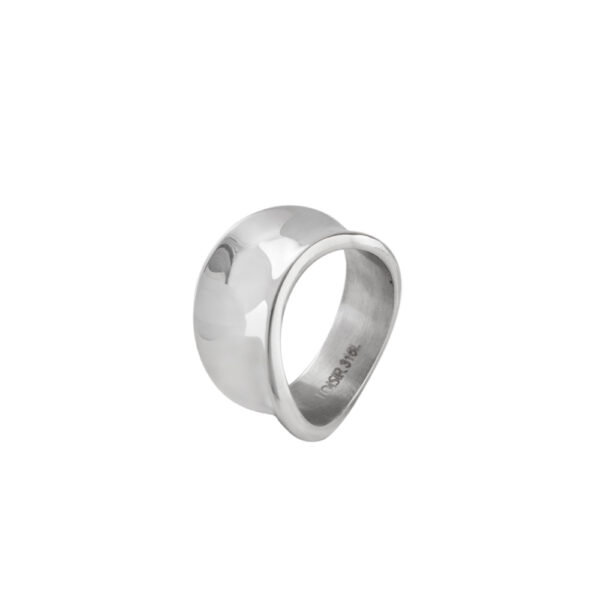 04L03-00285 Loisir Fashionistas Silver Color Ring