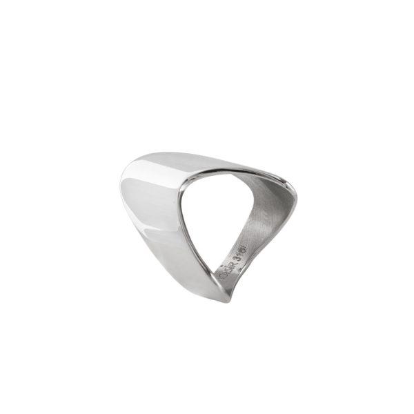 04L03-00287 Loisir Fashionistas Silver Color Ring