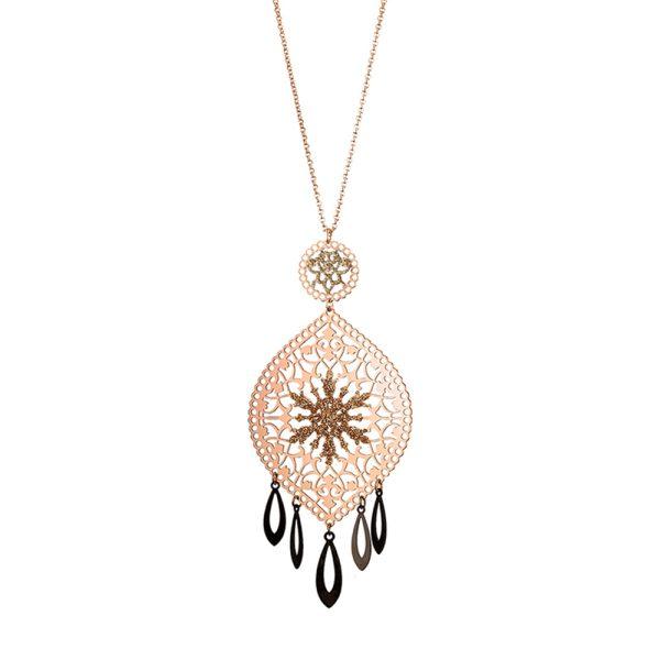 01L15-00833 Loisir Arabesque Necklace