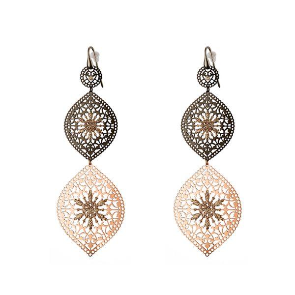03L15-00580 Loisir Arabesque Earrings