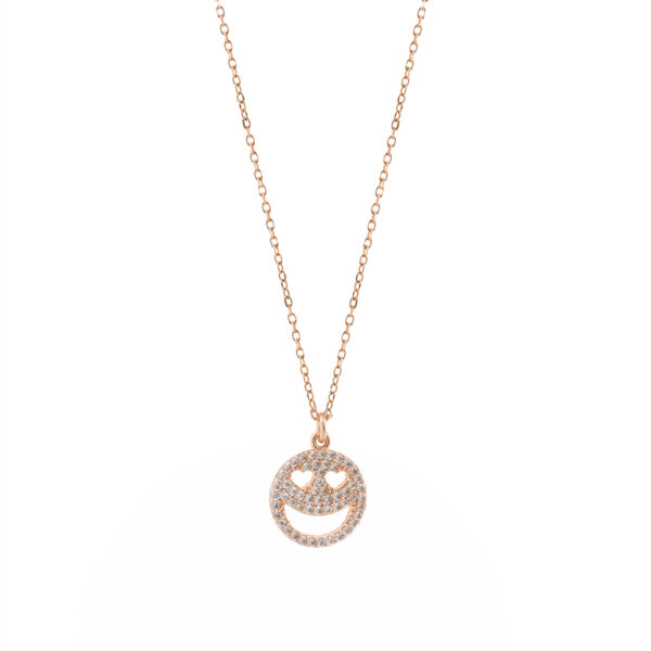 01L15-00802 Loisir Emoji Necklace