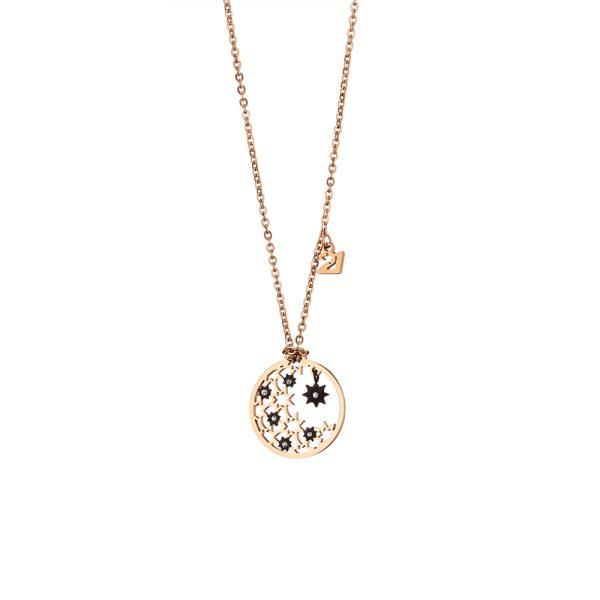 01L27-00822 Loisir Lucky Charm Necklace
