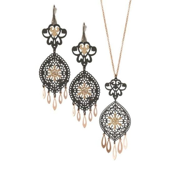 Loisir Arabesque Necklace and Earrings Set