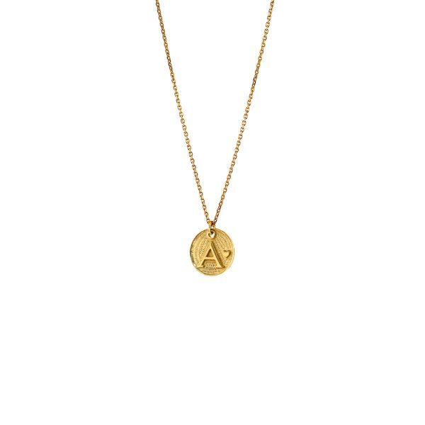 01L05-01497 Loisir Monogram Necklace